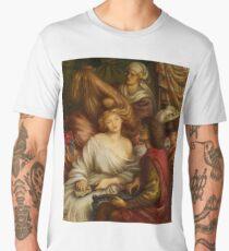 Morning Music by Dante Gabriel Rossetti Men's Premium T-Shirt