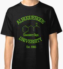 Breaking Bad - Albuquerque University Green Classic T-Shirt