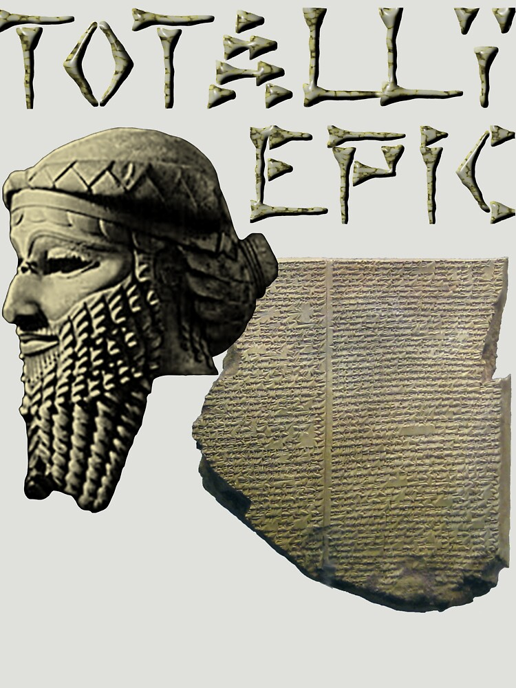 Gilgamesh: Totally Epic - Color by BlueEyedDevil