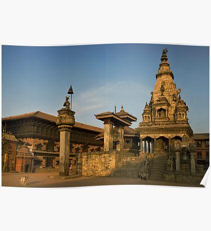 Bhaktapur Square, Nepal. Poster