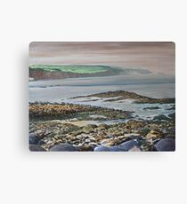 View from Ballycastle,Co Antrim,Northern Ireland. Canvas Print