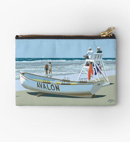 Avalon Beach Patrol Zipper Pouch