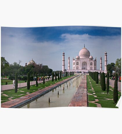The Taj Mahal, Agra, India Poster