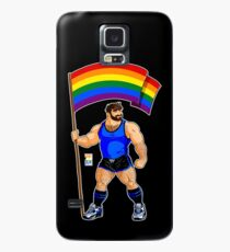 ADAM LIKES PRIDE FLAG - BLUE OUTFIT Case/Skin for Samsung Galaxy