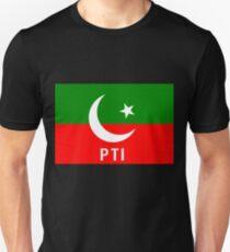 Pakistan PTI Party Flag Unisex T-Shirt