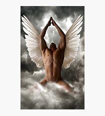 Angel of prayers Photographic Print