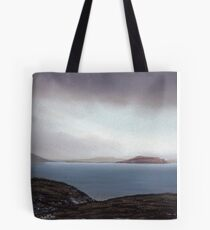View from Knockamany bends,Co Donegal,Ireland. Tote Bag
