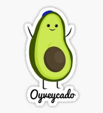 Oyveycado!  Sticker