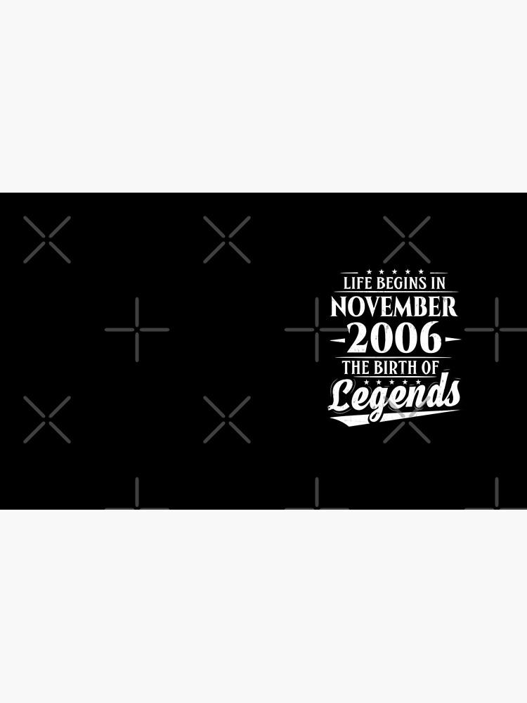 12. Geburtstag beginnt im November 2006 Geburt der Legenden von SpecialtyGifts