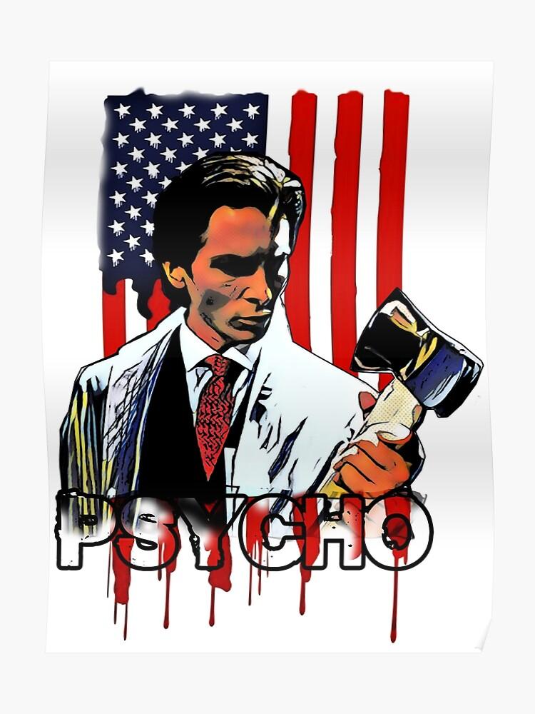 7de3cf74 American Psycho Poster. American Psycho by JTK667