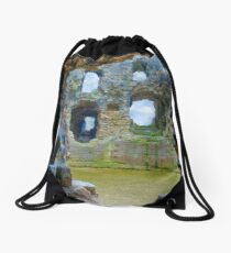 Denbigh Castle Drawstring Bag