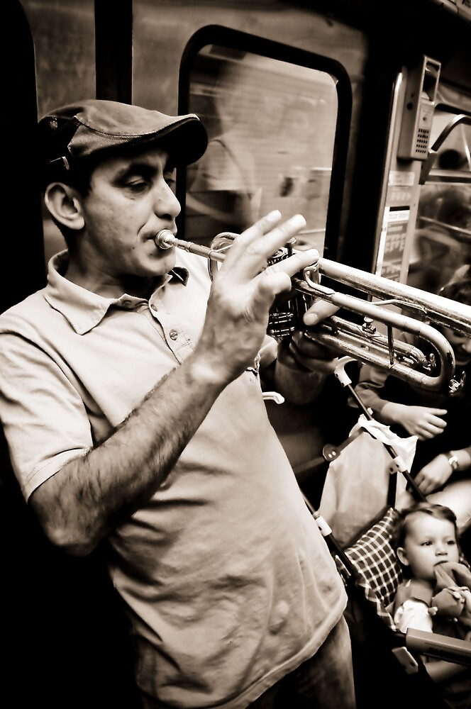 Metro musician by Pat Shawyer
