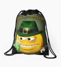 Happy Paddy Day Drawstring Bag