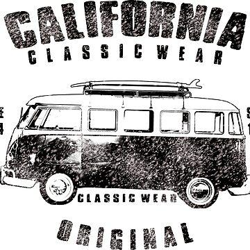CALIFORNIA ORIGINAL CLASSIC WEAR by RoyalT-shirts