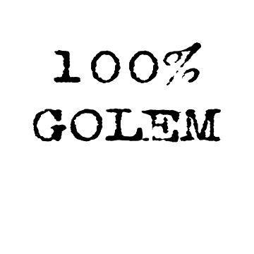 100% Golem by stickersandtees