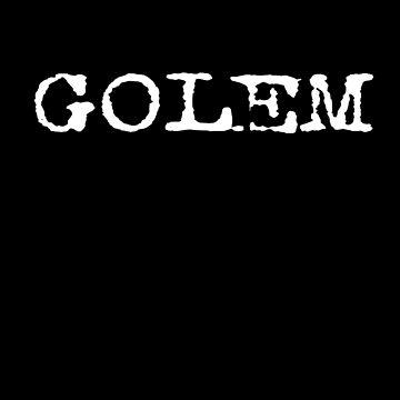 GOLEM T-SHIRT by stickersandtees