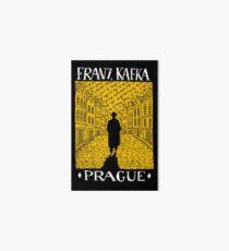 Franz Kafka Prague Art Board