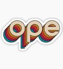 Disco Ope - Tighter Spacing Sticker
