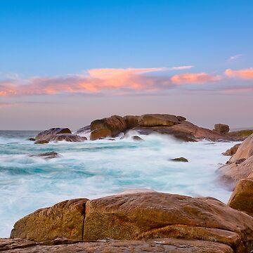 Big Rocks, Slopey Rocks, Margaret River by MADCAT