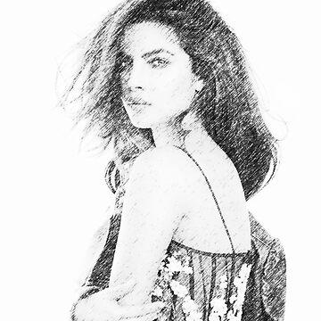 Priyanka Chopra  by justrachna