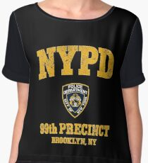 99th Precinct - Brooklyn NY Chiffon Top