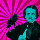 Edgar Allan Poe by lucamendieta