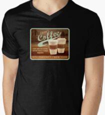 Castle's Coffee Men's V-Neck T-Shirt