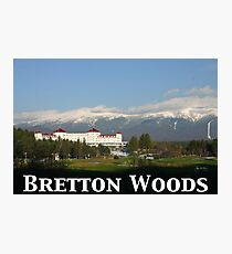 Bretton Woods 65th Anniversary Poster Photographic Print