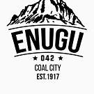Enugu 042 Coal City - Igbo Inspired T-shirt by Learn Igbo Now