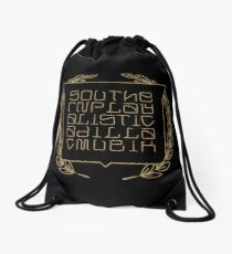 Southernplayalisticadillacmuzik Outkast Fan Art Support Hiphop Rap Old School Vintage Gift Drawstring Bag