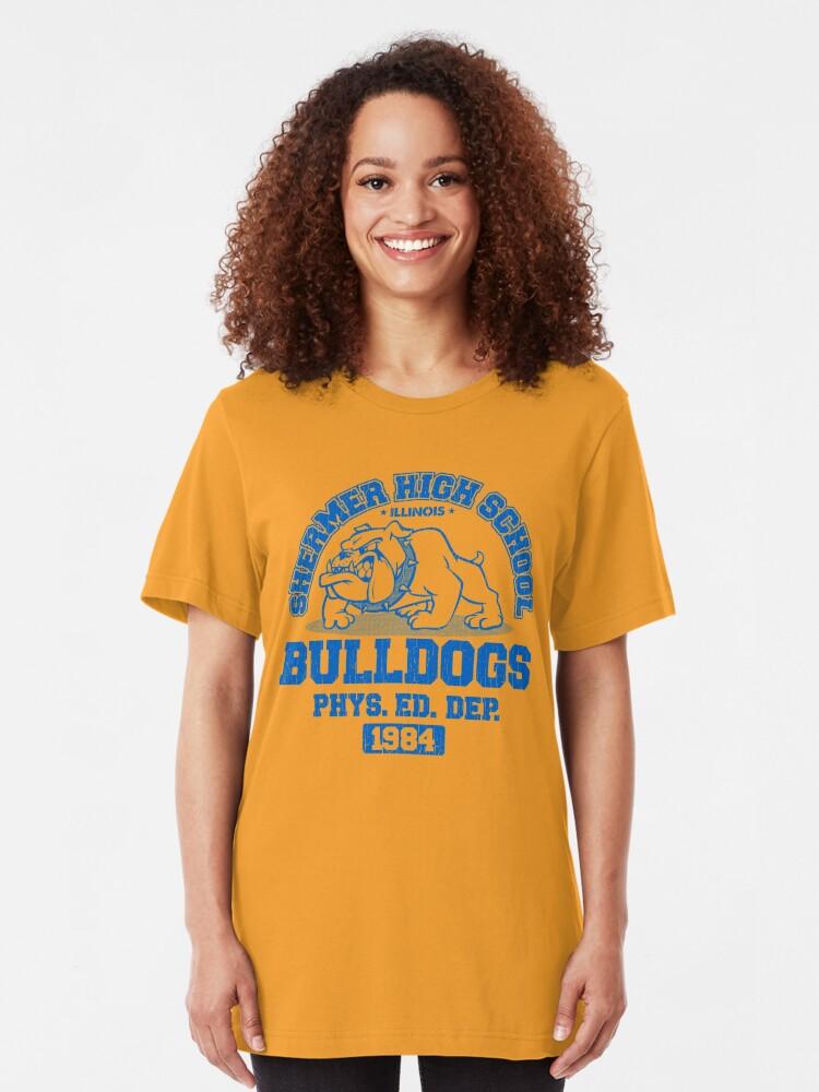 Alternative Ansicht von SHERMER HIGH SCHOOL Slim Fit T-Shirt