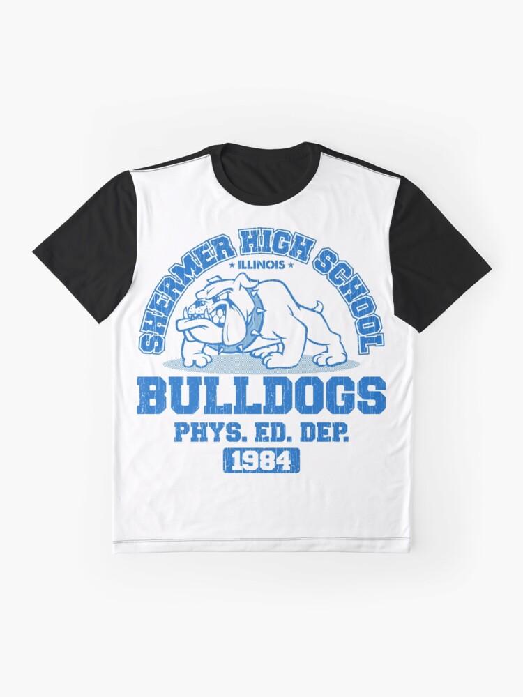Alternative Ansicht von SHERMER HIGH SCHOOL Grafik T-Shirt