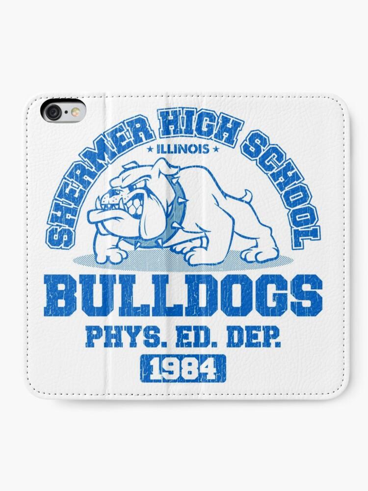 Alternative Ansicht von SHERMER HIGH SCHOOL iPhone Flip-Case
