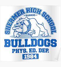 SHERMER HIGH SCHOOL Poster
