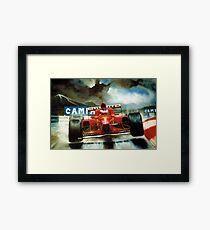 Michael Schumacher in Austria Framed Print