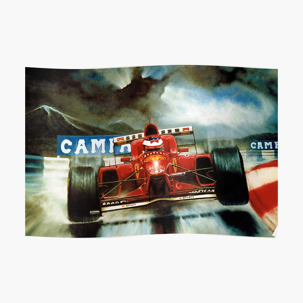 Michael Schumacher in Austria Poster