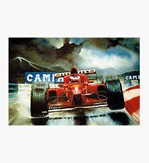 Michael Schumacher in Austria Photographic Print
