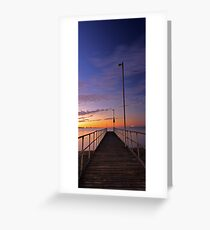 Rockingham Jetty  Greeting Card