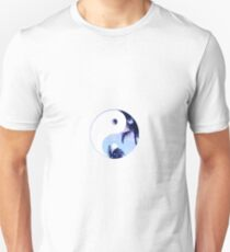 Palm Trees Yin Yang Unisex T-Shirt