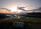 Sunset at Low Tide by Nigel Bangert