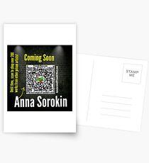Anna Sorokin  Postcards