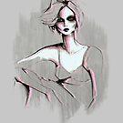 gray girl by Lara Wolf