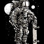 Astronaut skater by ArtemNovus