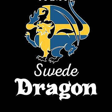 Dragon Swede Flag Sweden  by countryflags