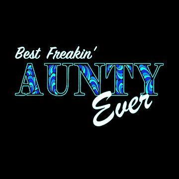Vicky's Blue Aunty  by AmandaMLucas