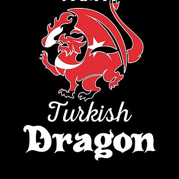 Dragon Turkish Flag Turkey  by countryflags