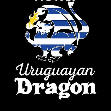 Dragon Uruguayan Flag Uruguay  by countryflags