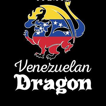Dragon Venezuelan Flag Venezuela  by countryflags
