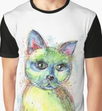 Colorful cat - with all its colors Graphic T-Shirt