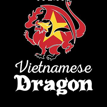 Dragon Vietnamese Flag Vietnam  by countryflags
